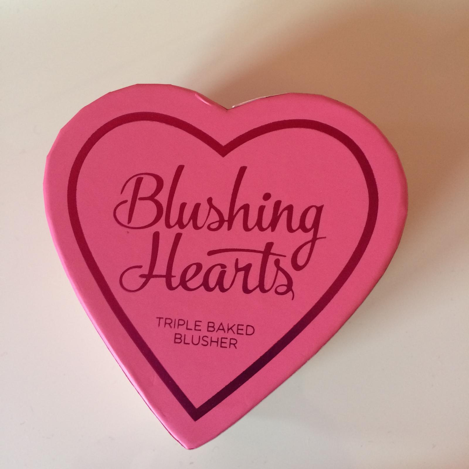 Blushing Hearts Baked Blusher Peachy Keen