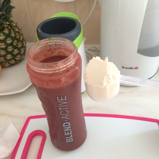 cherry and spinach smoothie