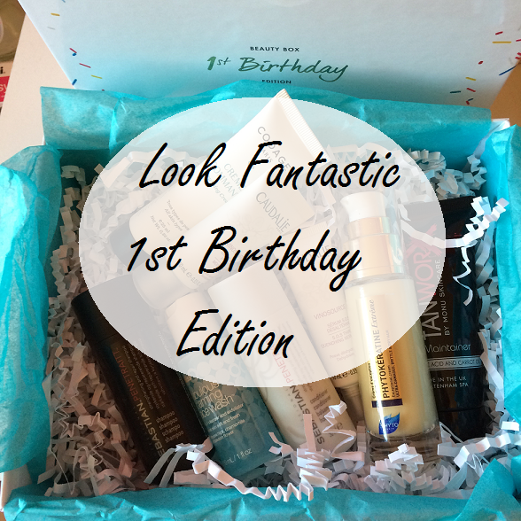 Look Fantastic 1st Birthday Edition September Box