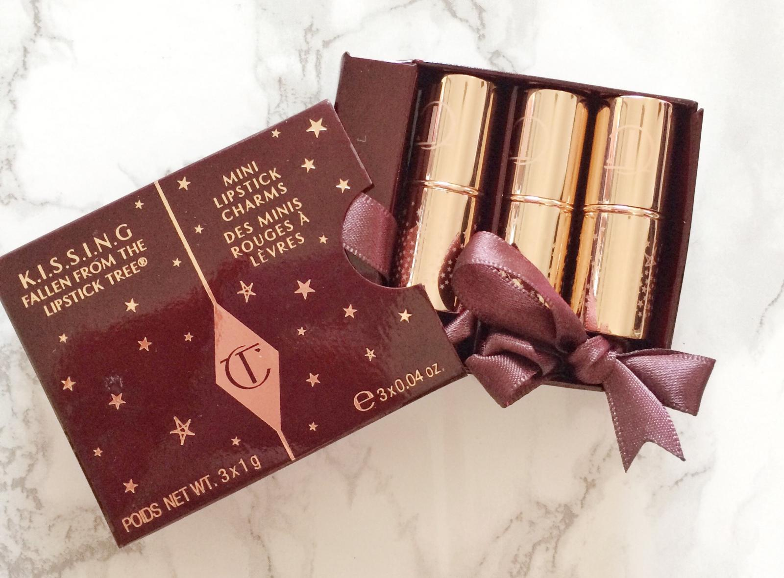 Charlotte Tilbury Kissing Mini Lipstick Charms Review