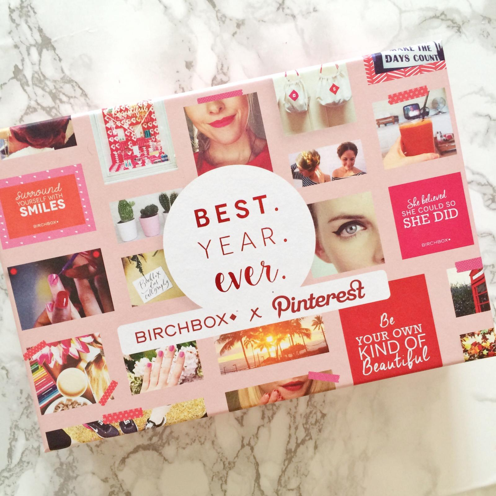 Birchbox x Pinterest January Unboxing