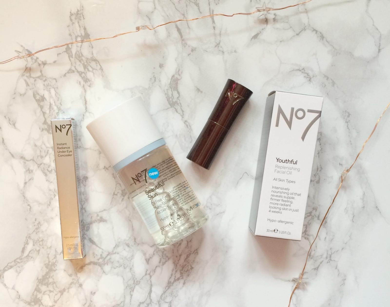 Boots No7 Skincare and Makeup Haul