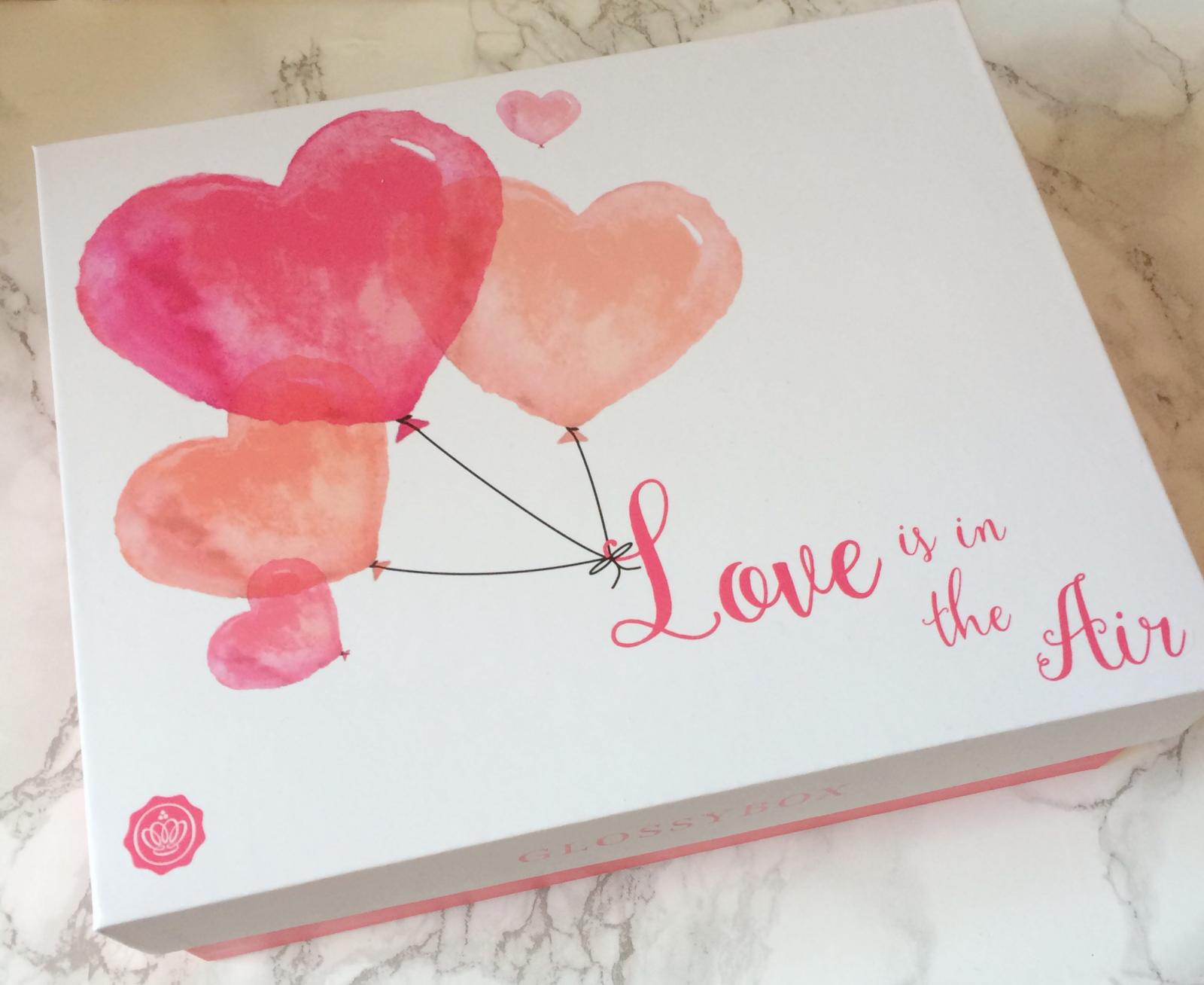 Glossybox February Unboxing | Love is in the air