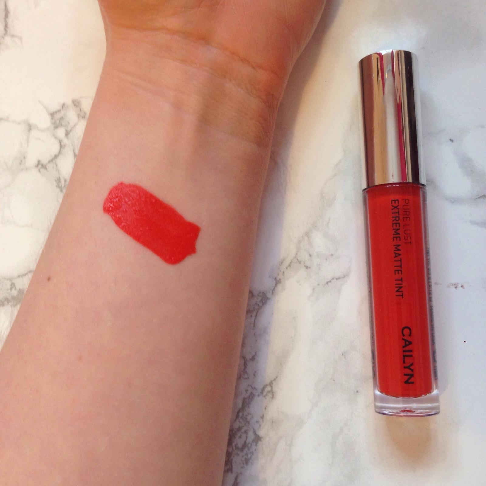 cailyn pure lust exreme matte tint