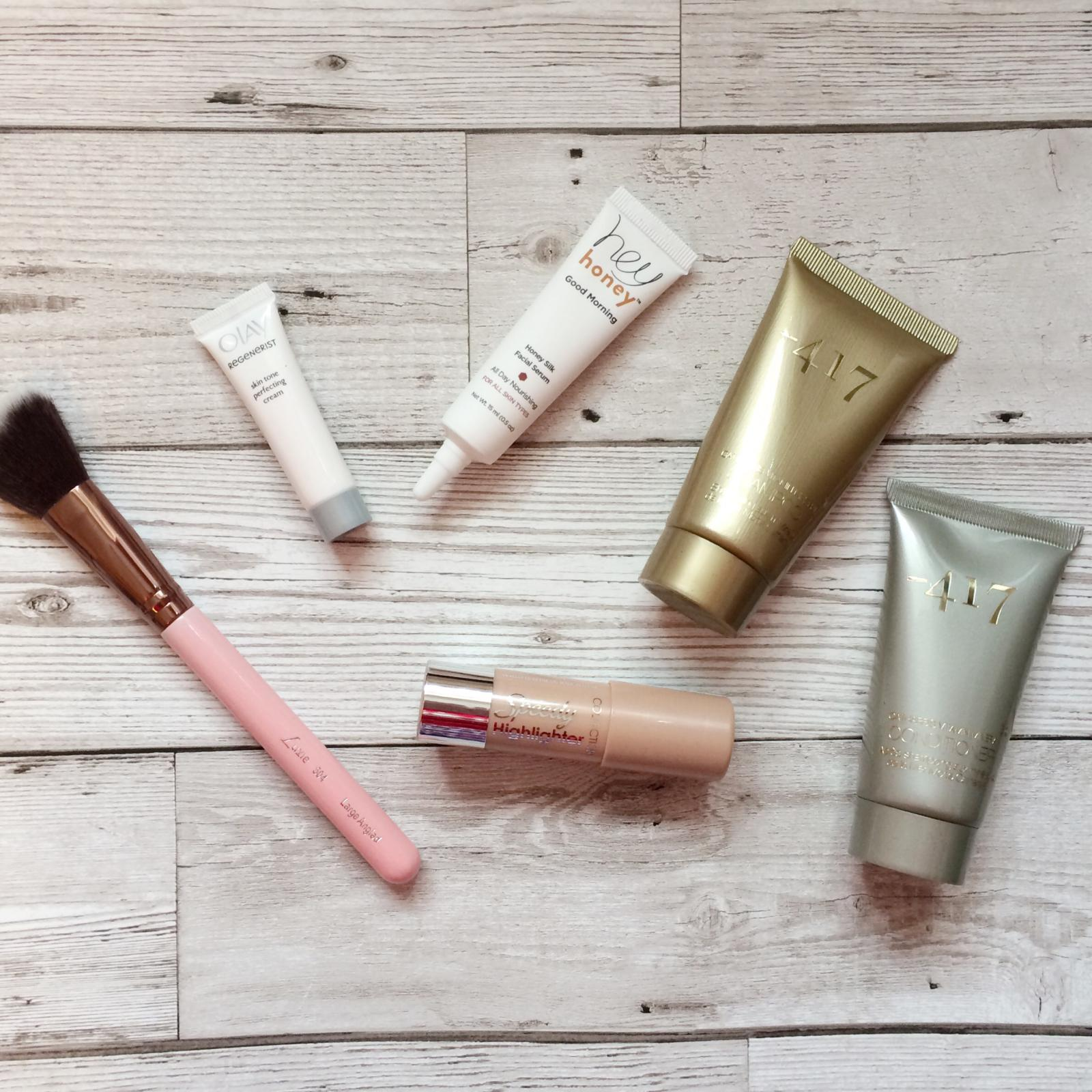 glossybox march unboxing