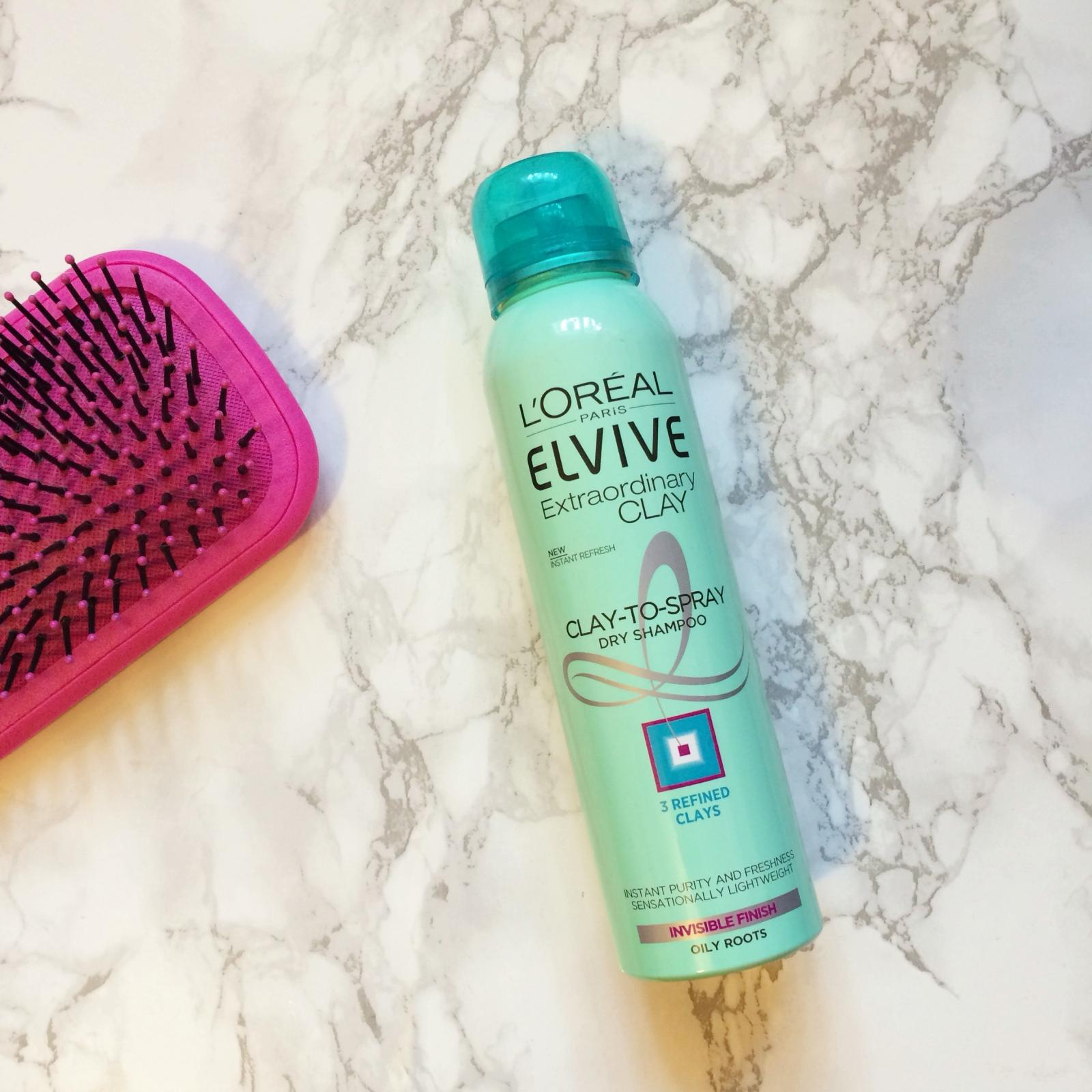 Loreal Elvive Extraordinary Clay Dry ShampooReview