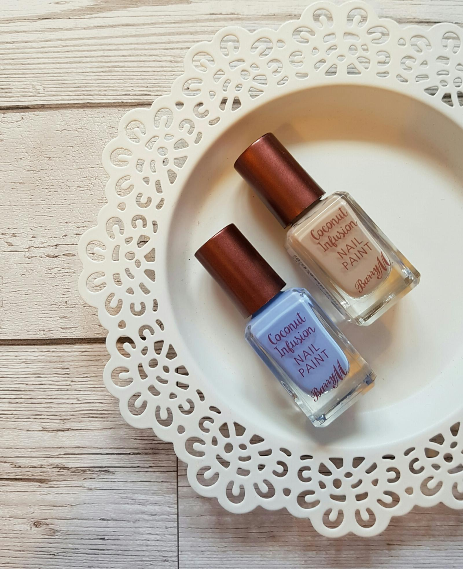 Barry M Coconut Infusion Nail Polish Review