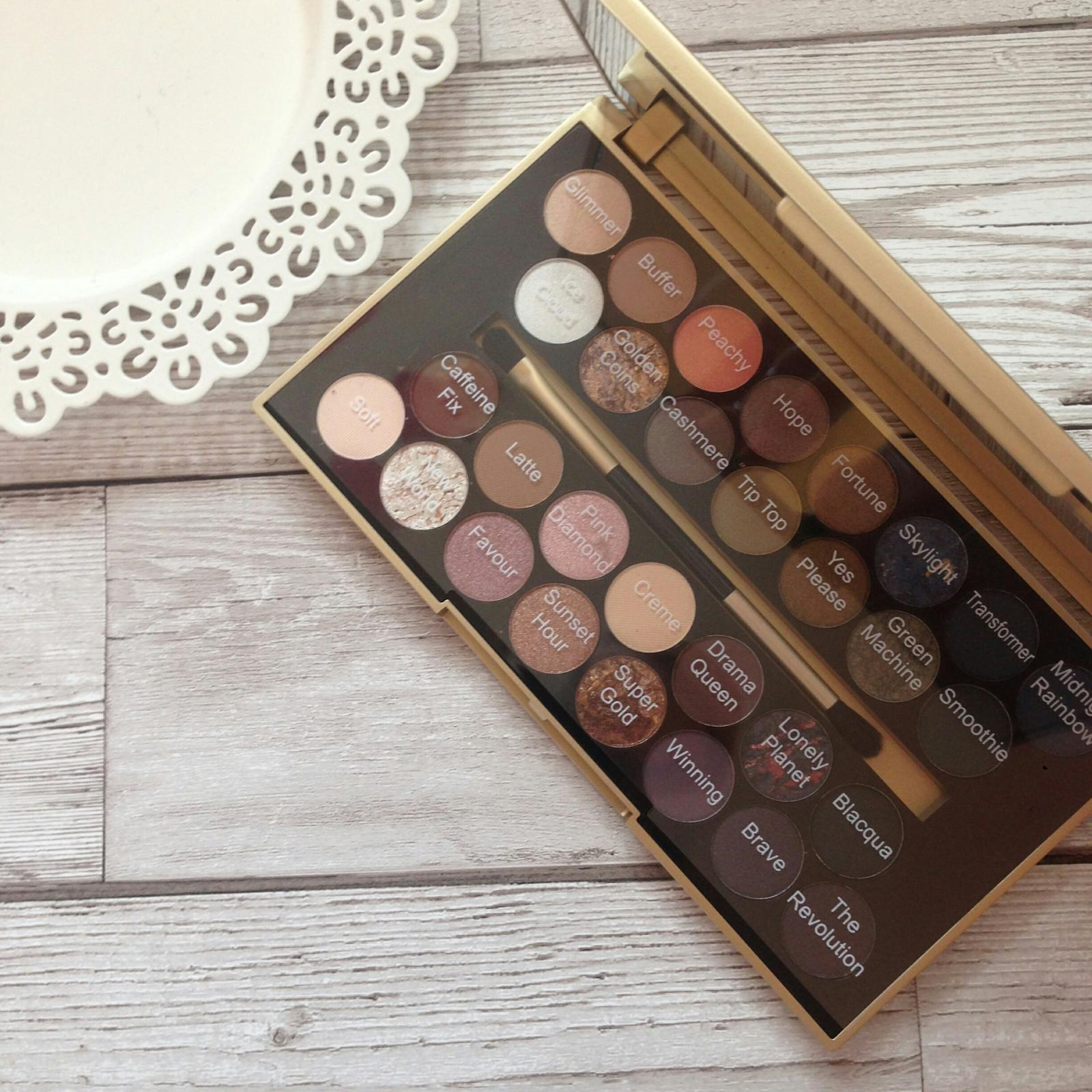 fortune favours the brave palette names