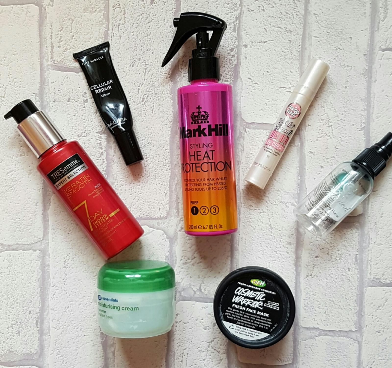 May Empties // Product Reviews