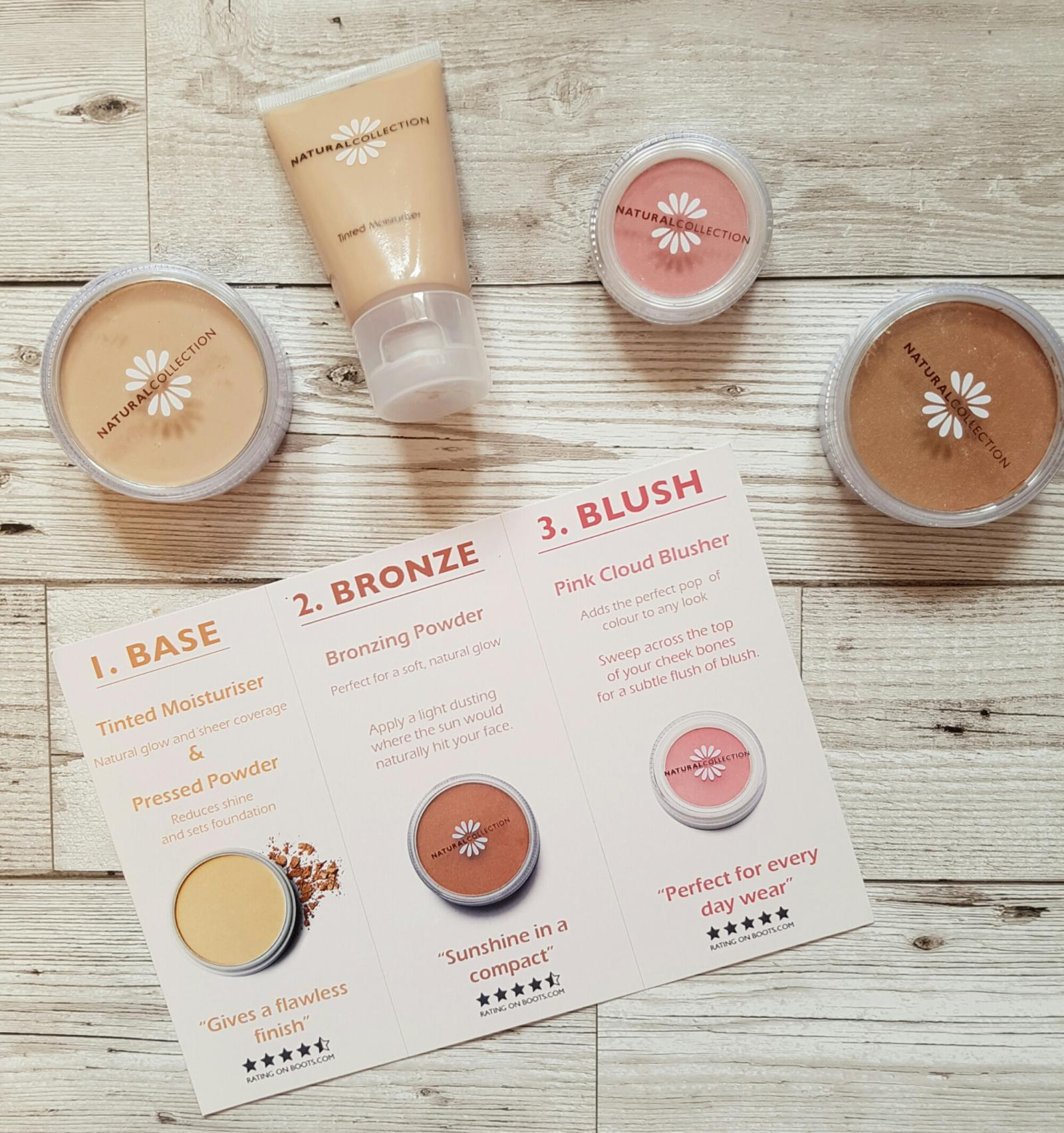 natural collection get glowing products