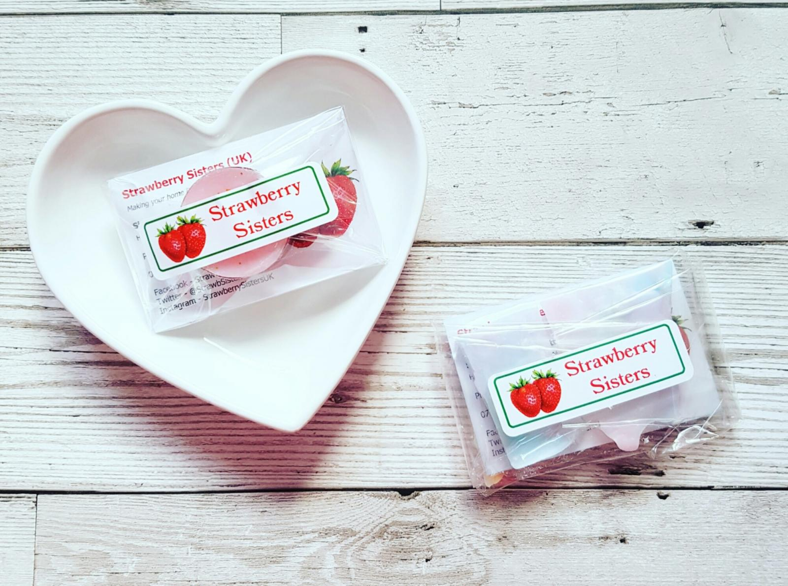Strawberry Sisters Candles Wax Brittle