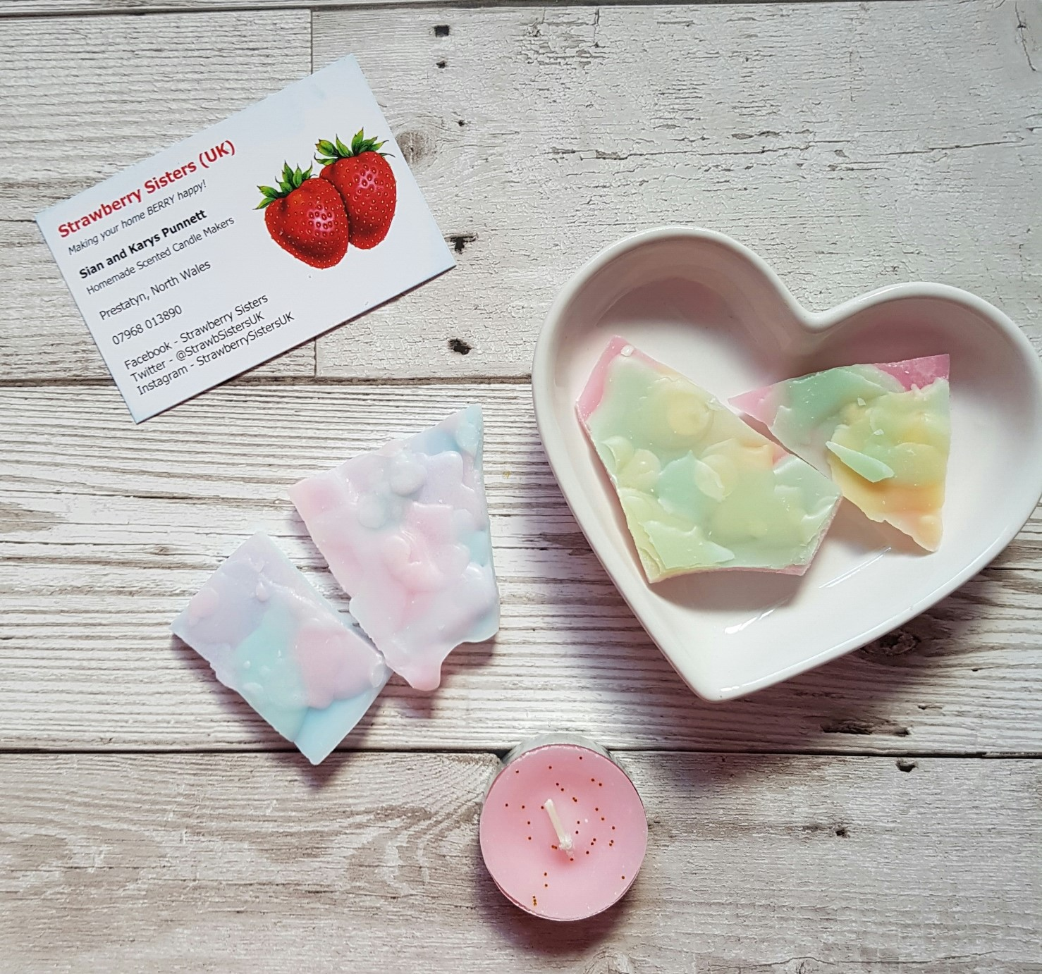 strawberry sisters wax brittle7