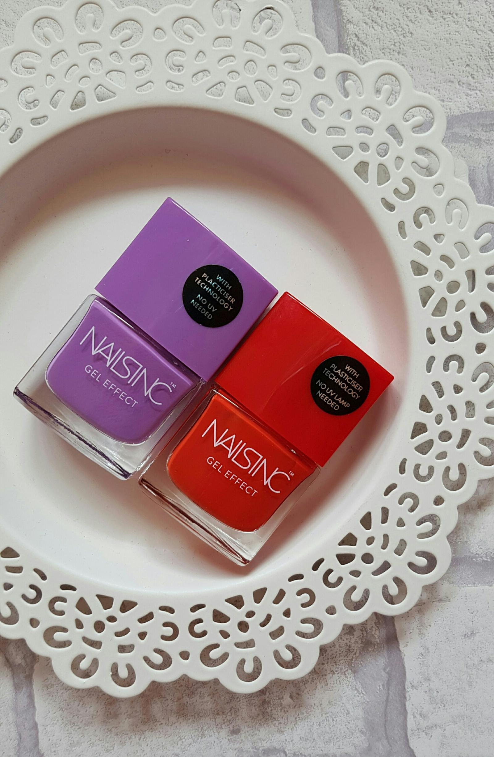 Nails Inc Gel Effect Polishes Review and Swatches
