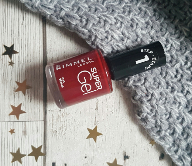 Rimmel Super Gel Nail Varnish Review and Swatch