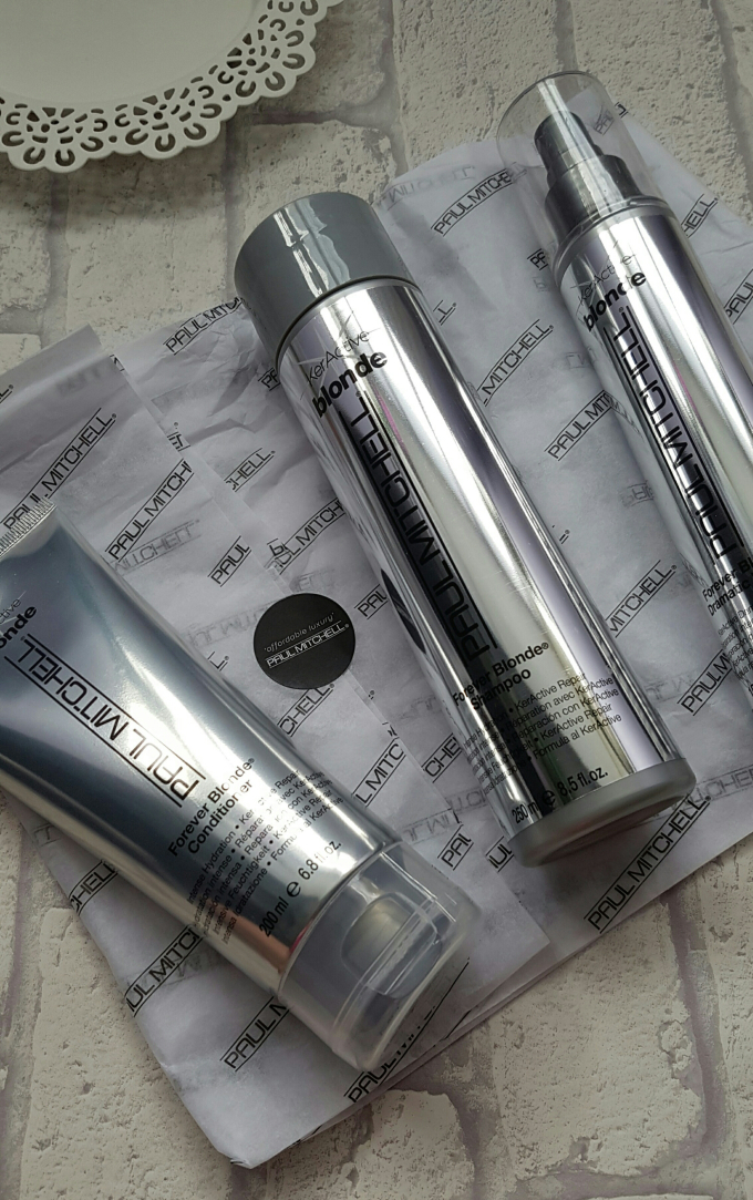 Paul Mitchell Forever Blonde Haircare System