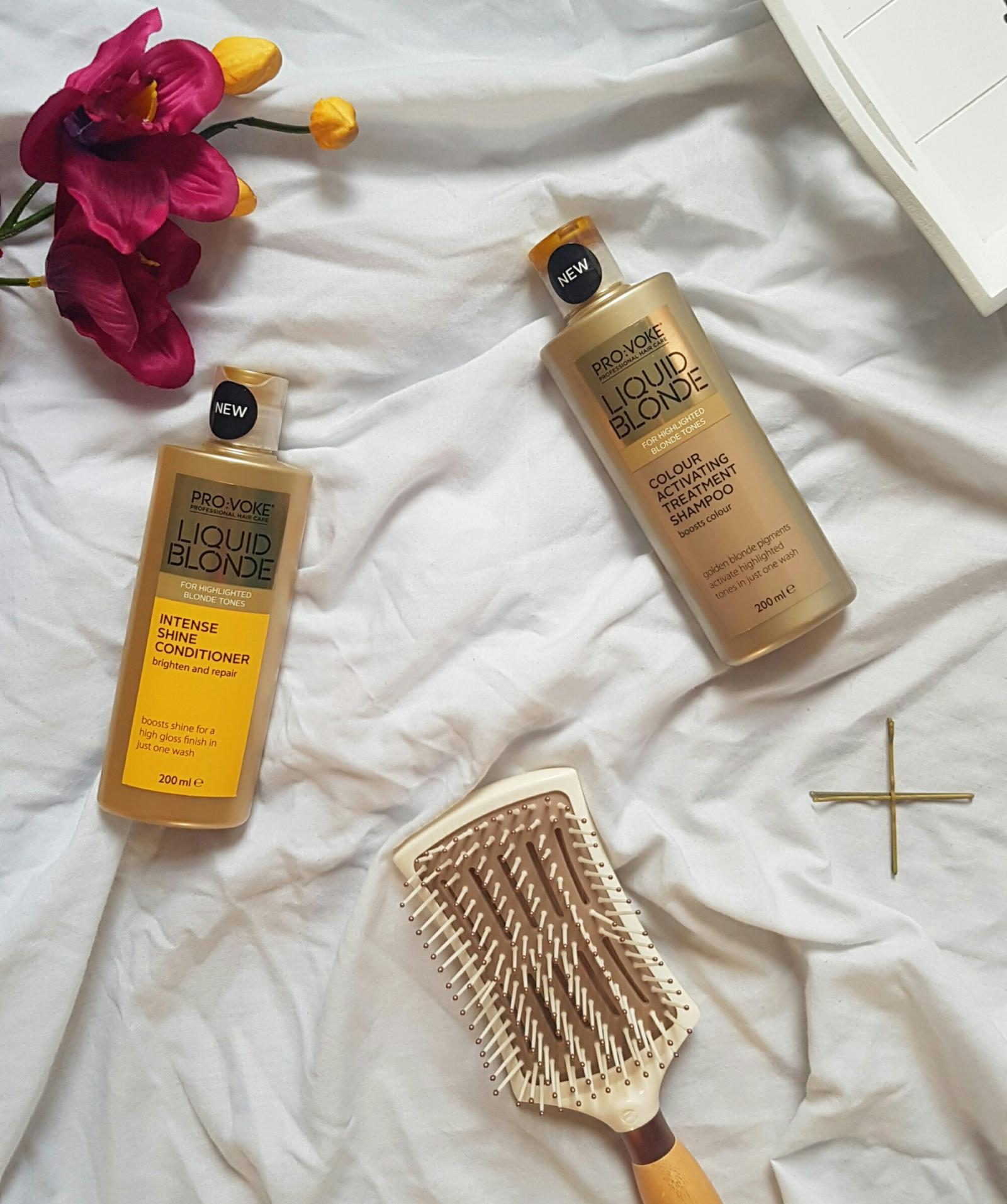 The shampoo you need if you're a golden blondie | Provoke Liquid Blonde Shampoo and Conditioner Review