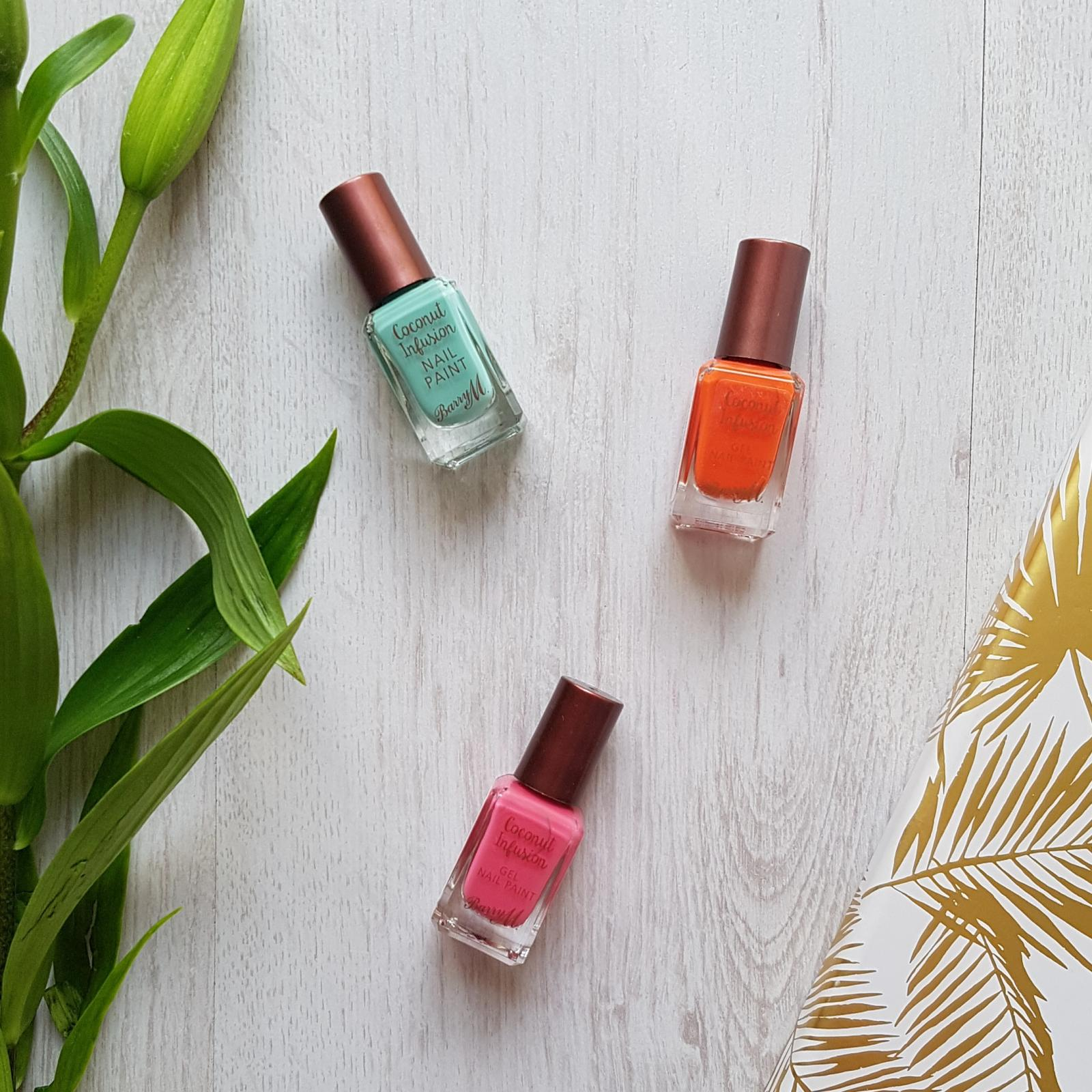 Summer ready nails | Barry MCoconut Infusion Swatches and Review
