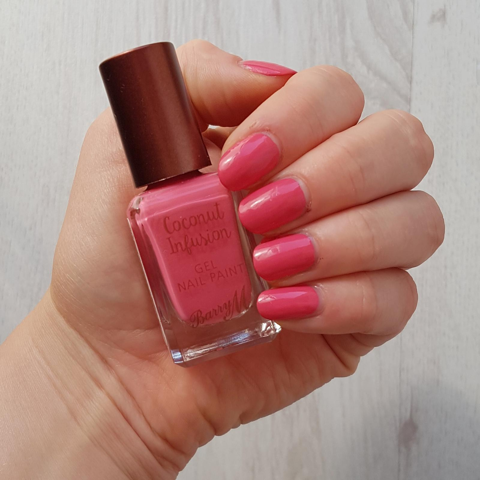 Barry M Coconut Infusion Aloha Swatch