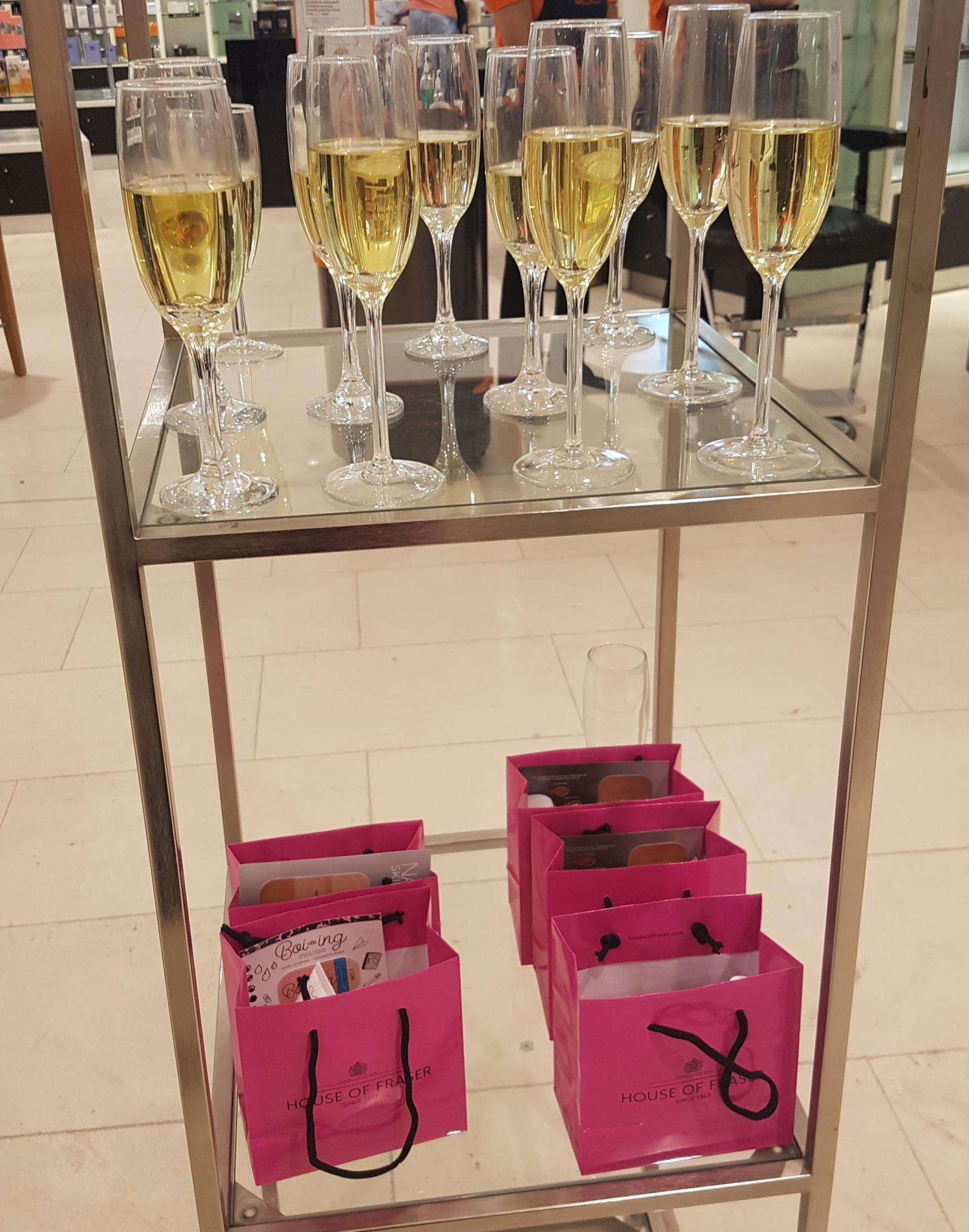 House of Fraser Nottingham Bloggers Event