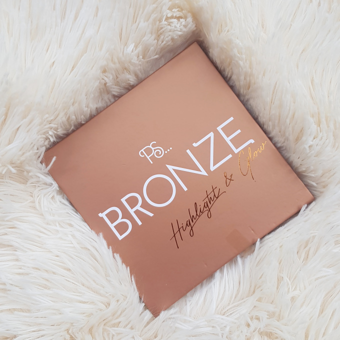 Primark Bronze and Glow Highlighting Palette