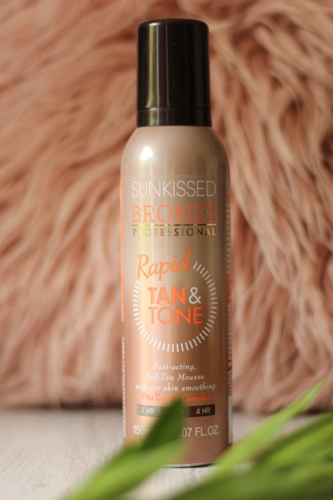 Sunkissed Bronze Rapid Tan and Tone