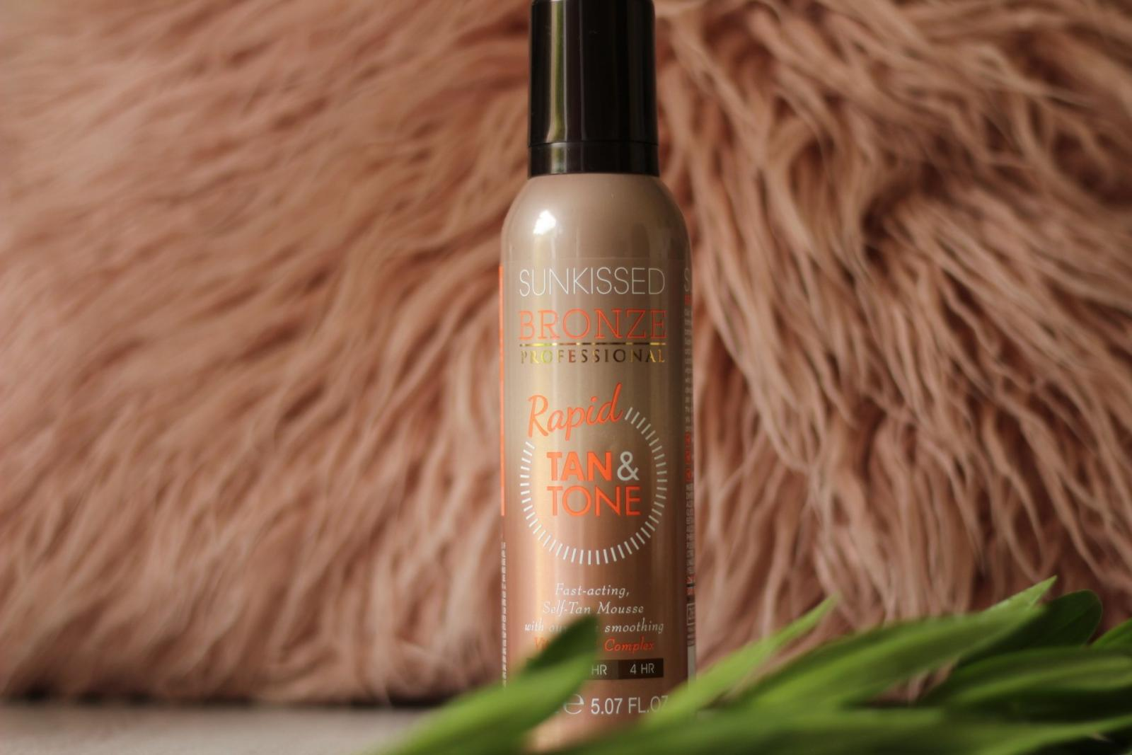 No fuss tanning | Sunkissed Bronze Rapid Tan & Tone