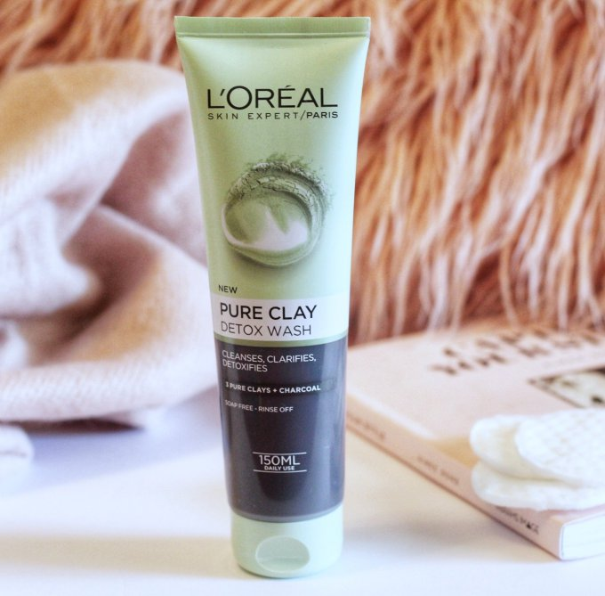 Loreal Pure Clay Detox Wash Cleanser.jpeg
