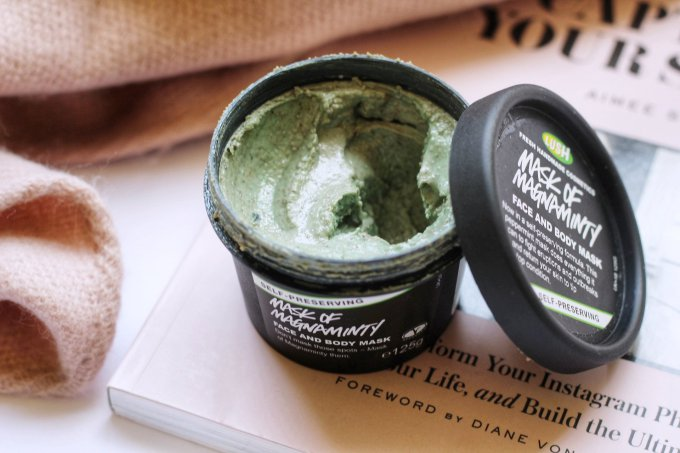 LUSH Face Mask Mask of Magnaminty