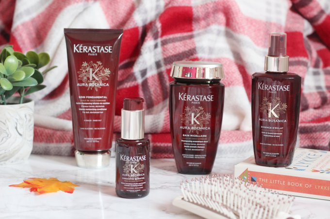 Silicone and sulphate free hair care from Kerastase: Aura Botanica Range