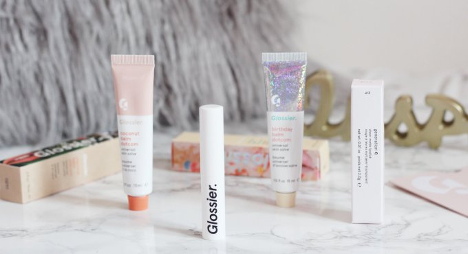 New In Glossier Haul