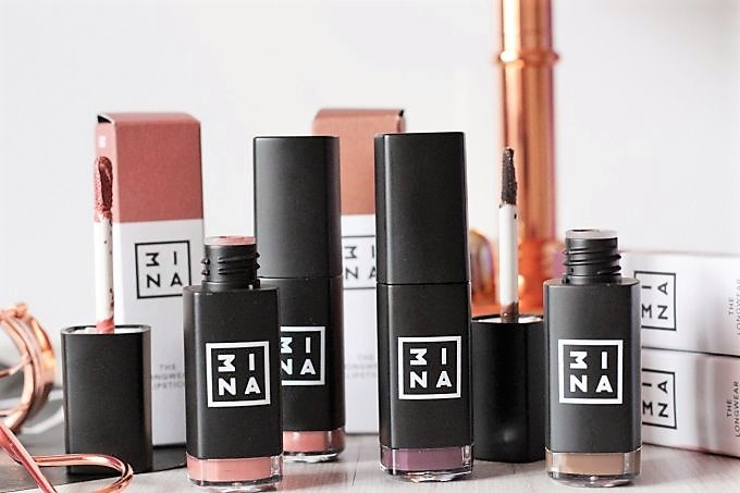 3INA The Longwear Lipstick Review and Swatches