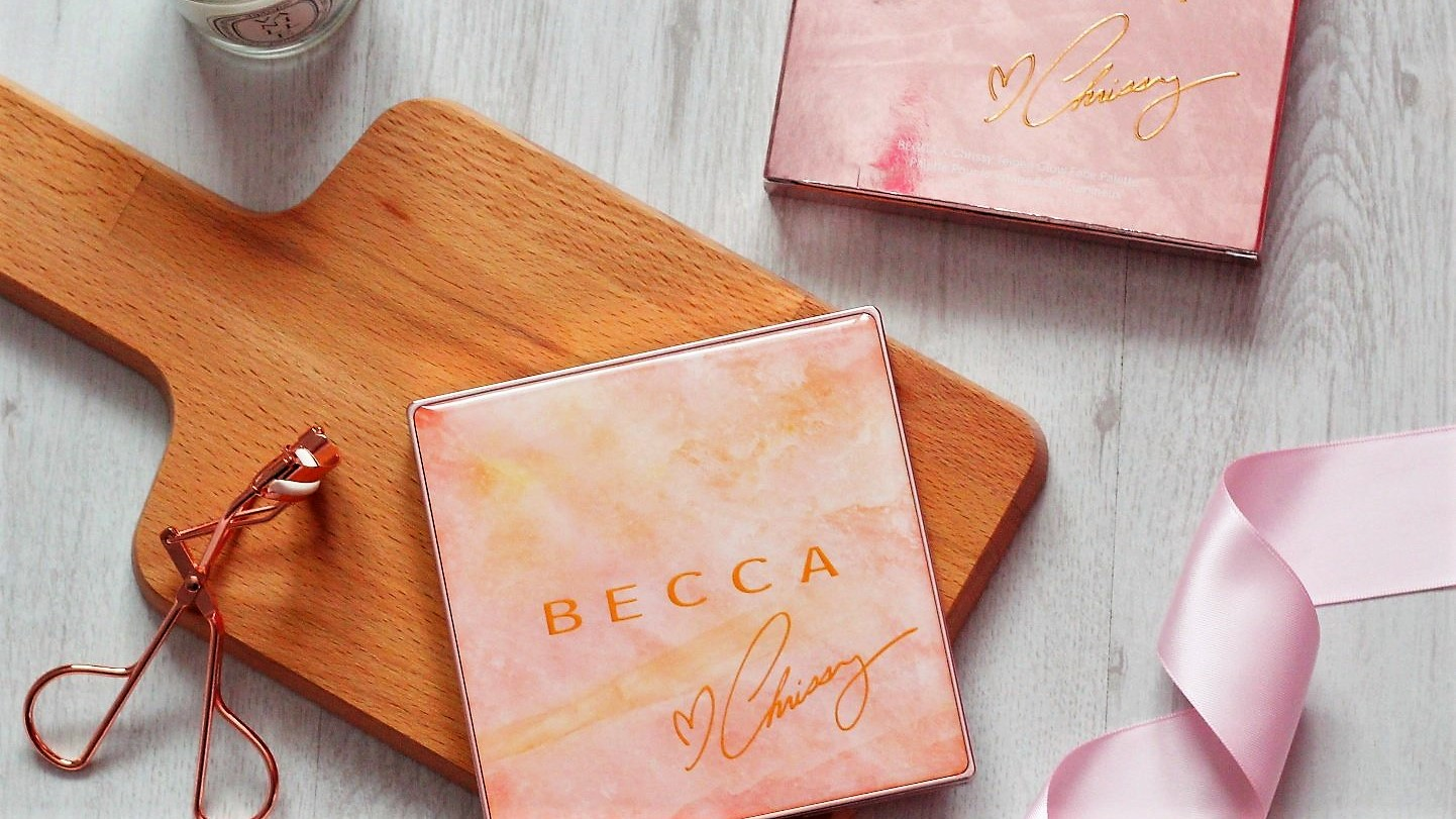 Becca x Chrissy Teigen Glow Face Palette Review and Swatches