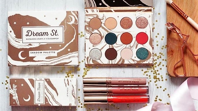 ColourPop x Kathleen Lights Dream St Collection Review and Swatches