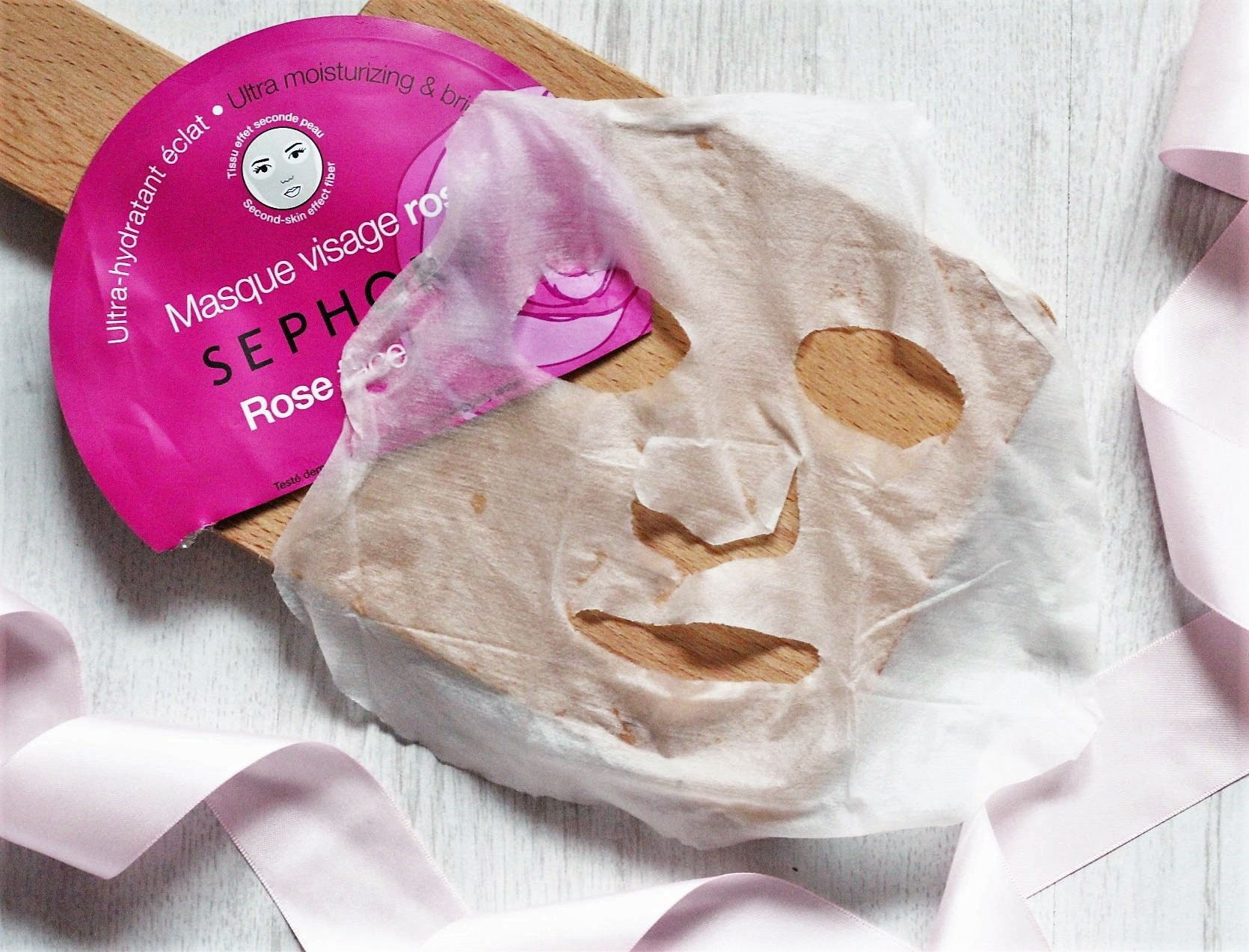 Four Sephora Face Masks Tried and Reviewed - Sephora Rose Sheet Face Mask Sheet (2).jpeg