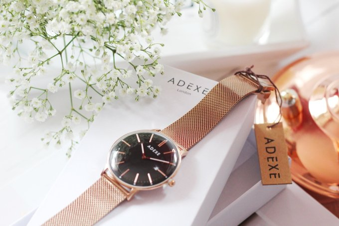 Time for a watch upgrade? Adexe Watches Meek Grande Rose Gold Watch Review