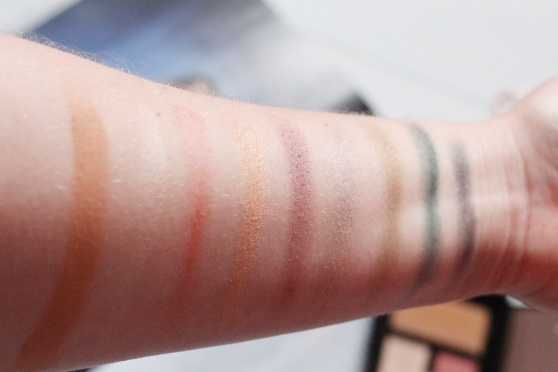 Rosie for Autograph at Marks and Spencer Makeup Review Anniversary Palette Swatches.jpeg