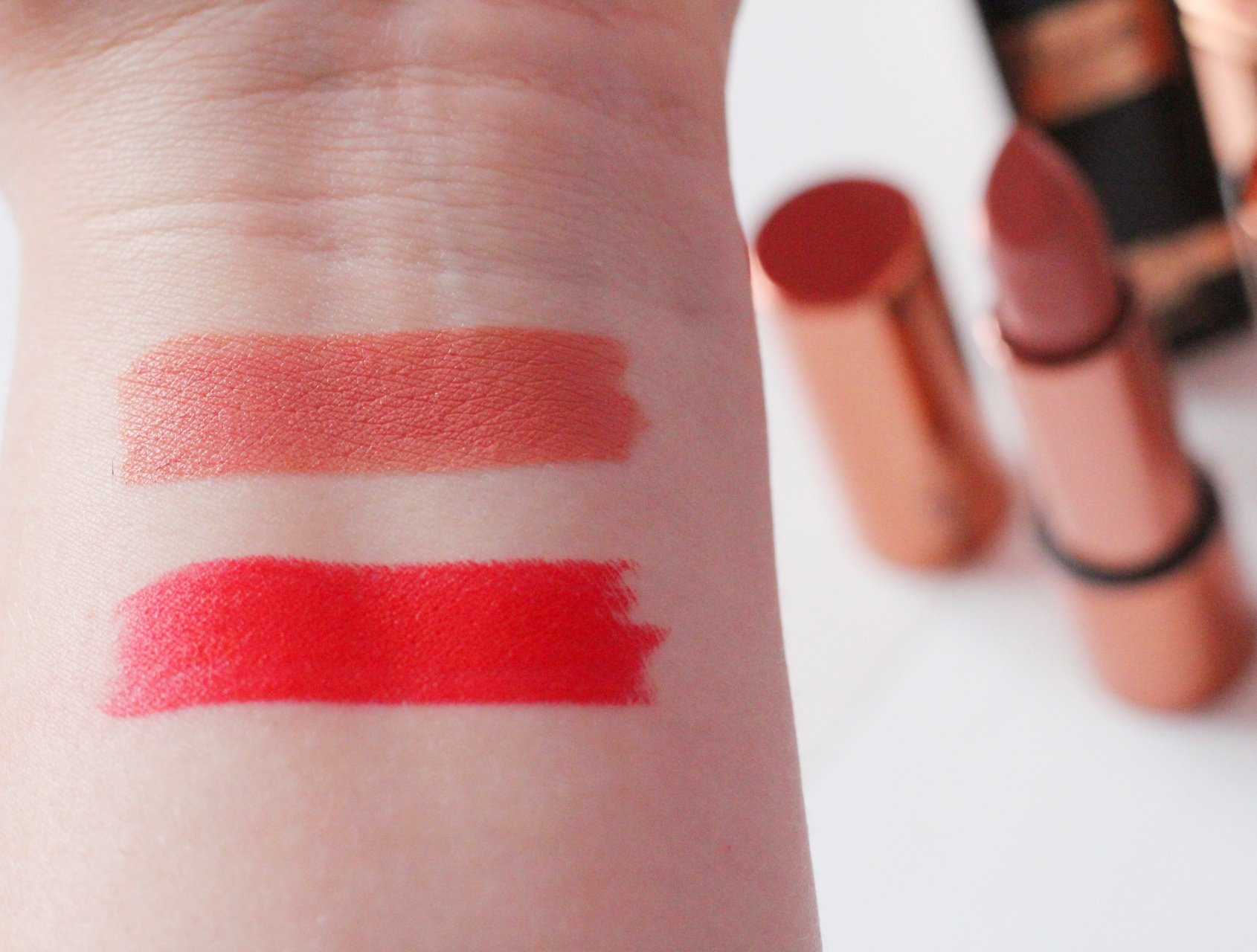 Rosie for Autograph at Marks and Spencer Makeup Review Lipstick Swatches.jpeg