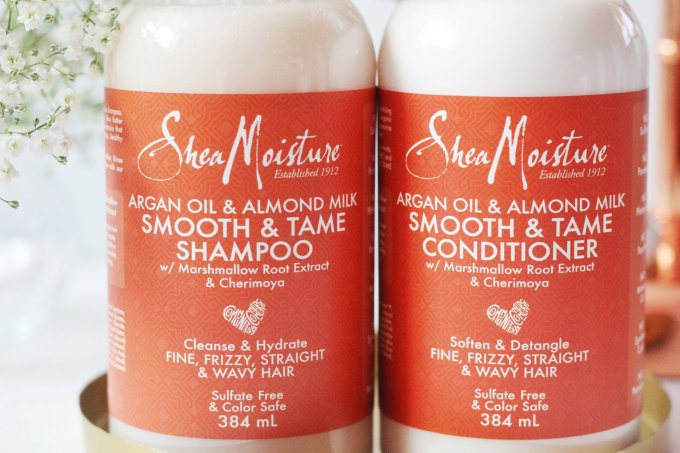 Shea Moisture Argan Oil & Almond Milk Smooth and Tame Review 1.jpeg