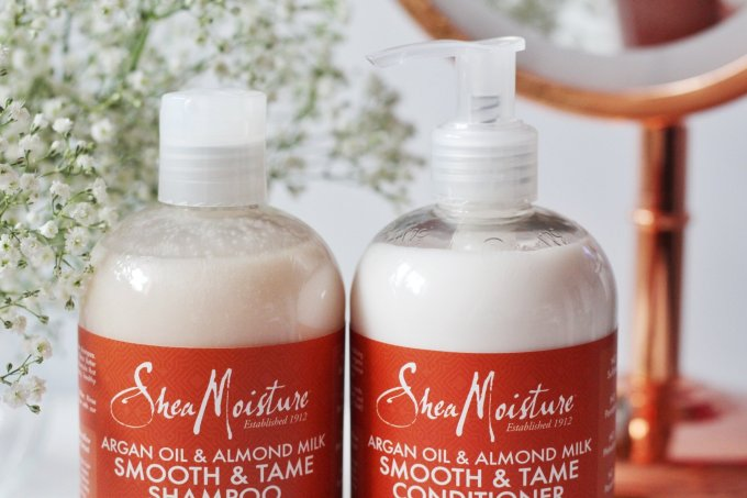 The hair care you need to de-tangle and tame frizz – Shea Moisture Argan Oil & Almond Milk Smooth and Tame Review