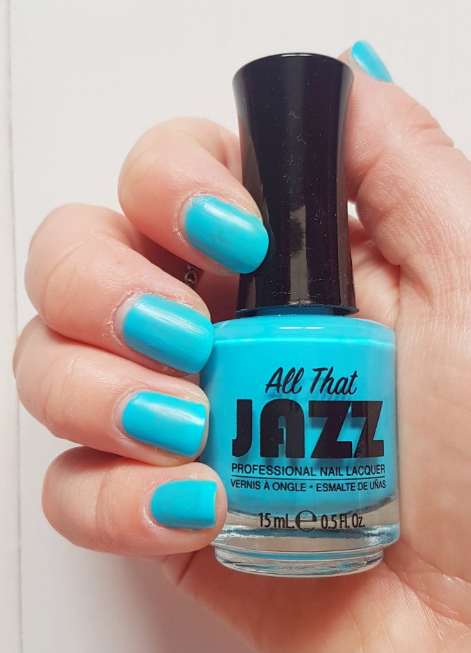 Summer Nails with The Caribbean Collection from All That Jazz 15