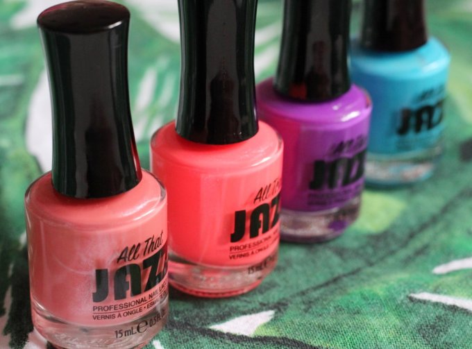 Summer Nails with The Caribbean Collection from All That Jazz 4.jpeg