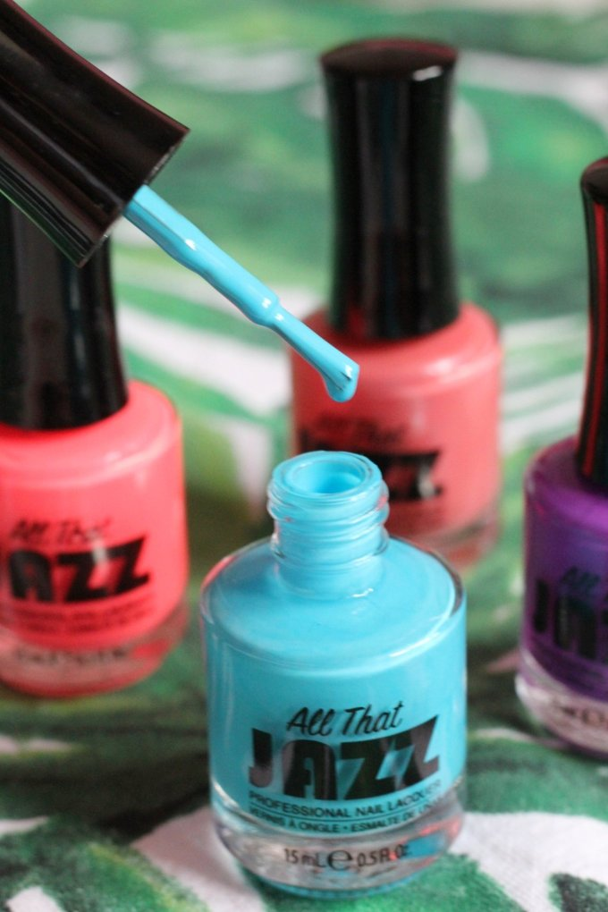 Summer Nails with The Caribbean Collection from All That Jazz 5.jpeg