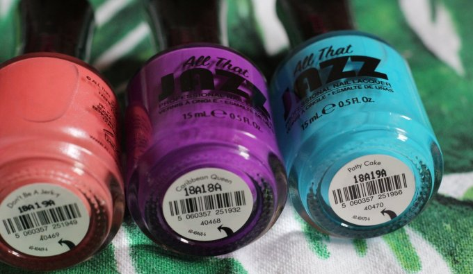 Summer Nails with The Caribbean Collection from All That Jazz 9