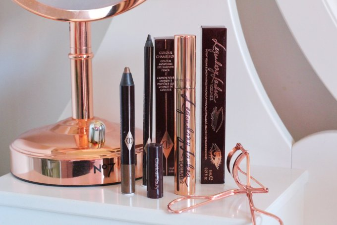 Creating a legendary eye look with Charlotte Tilbury Legendary Lashes Volume 2 Mascara