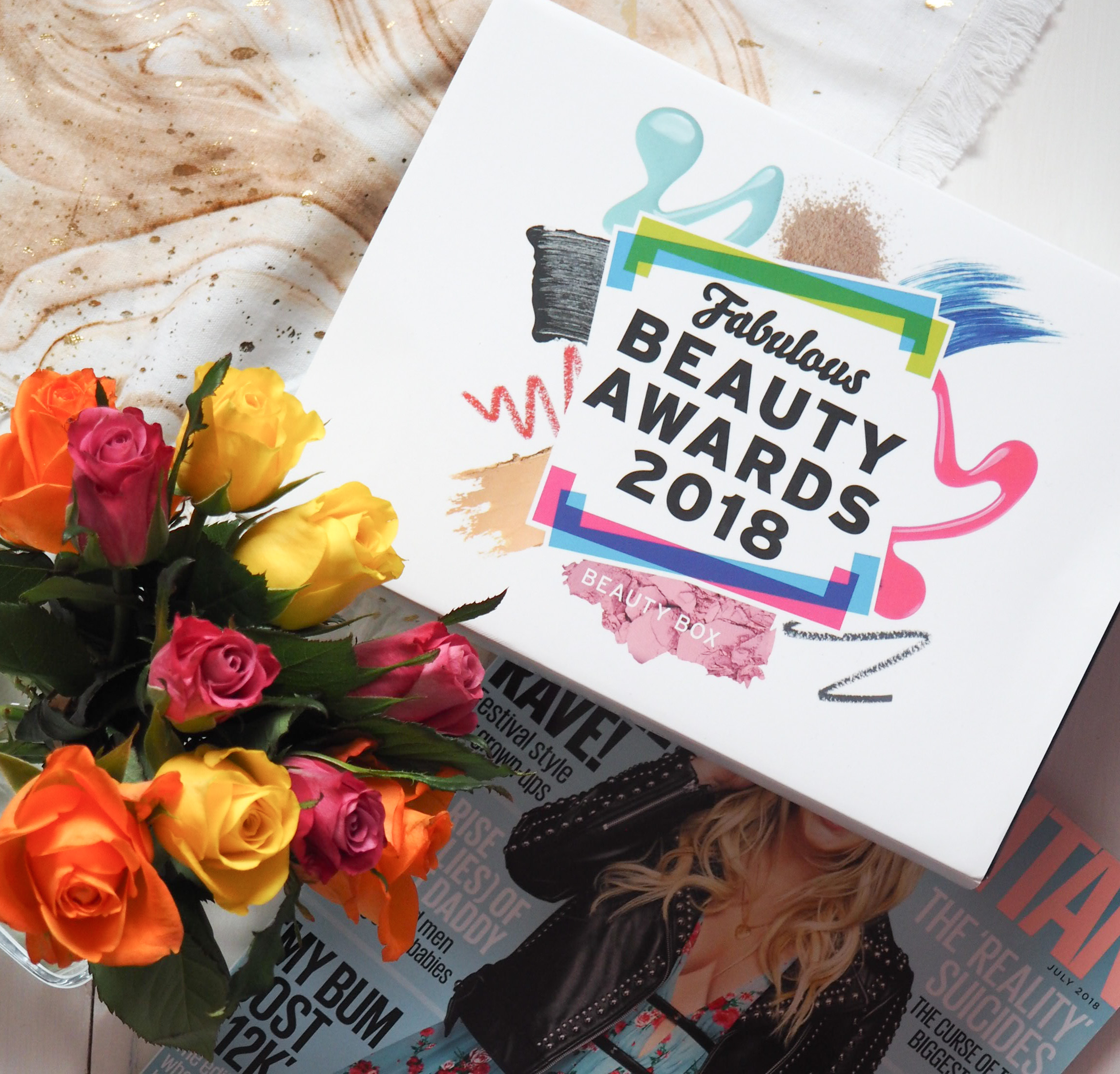 Fabulous Beauty Awards 2018 Beauty Box from Latest in Beauty