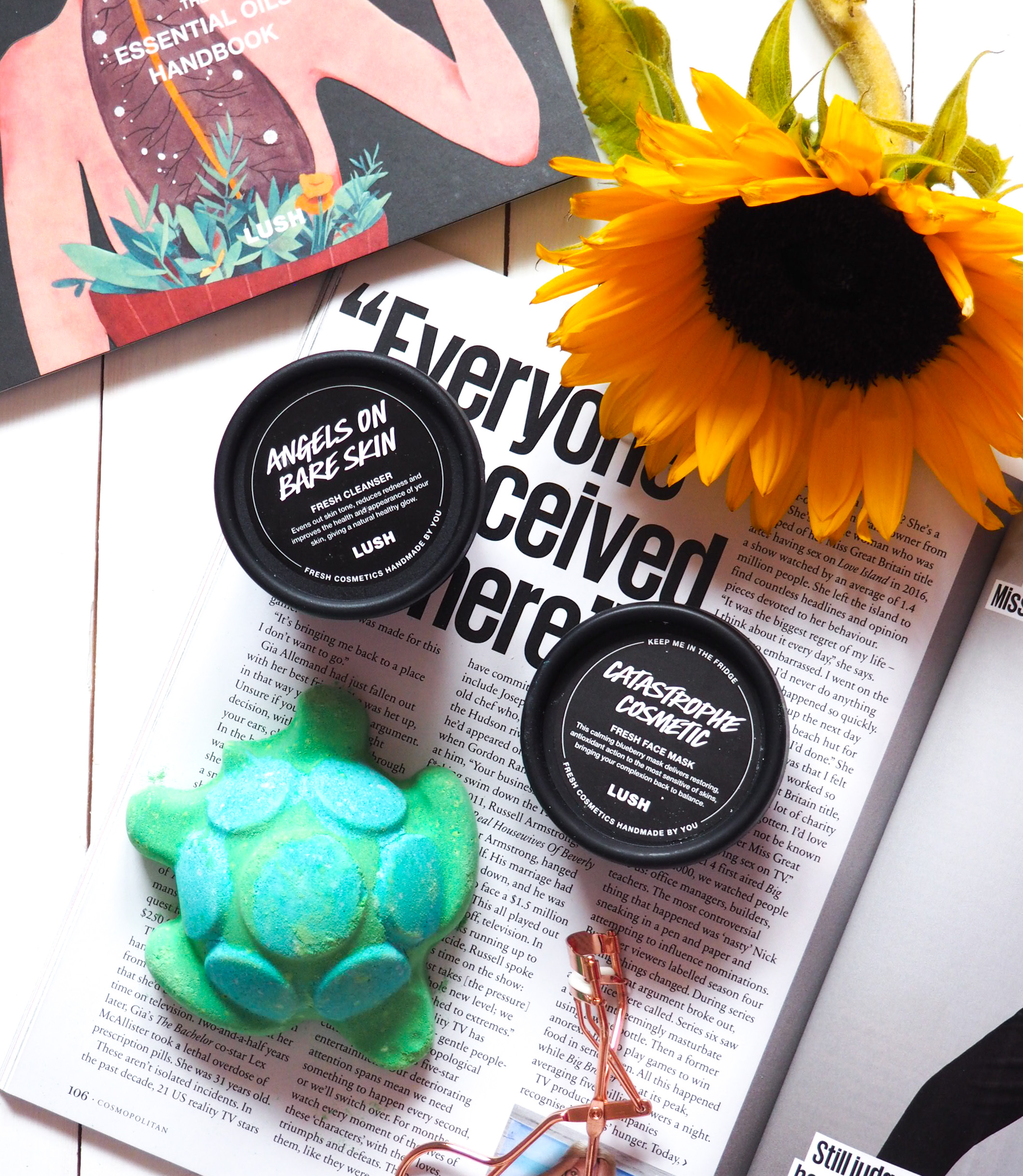 A handmade evening at Lush Nottingham