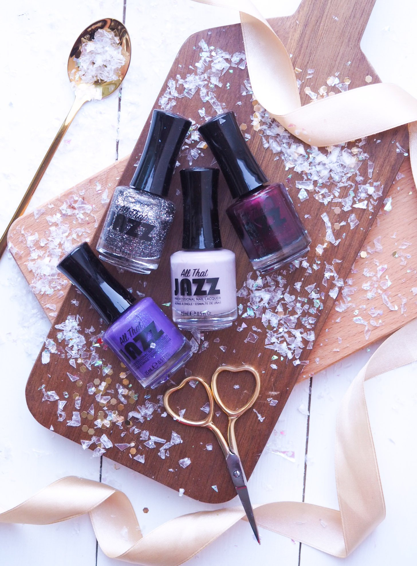 Festive Nails with All That Jazz The Designer Collection