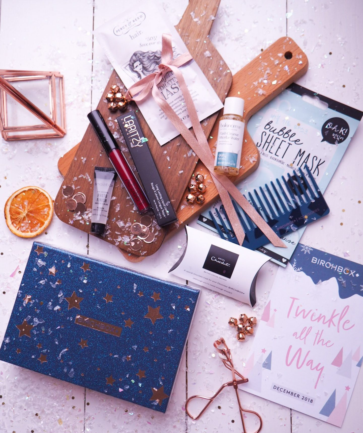 Birchbox December Ready to Twinkle All The Way