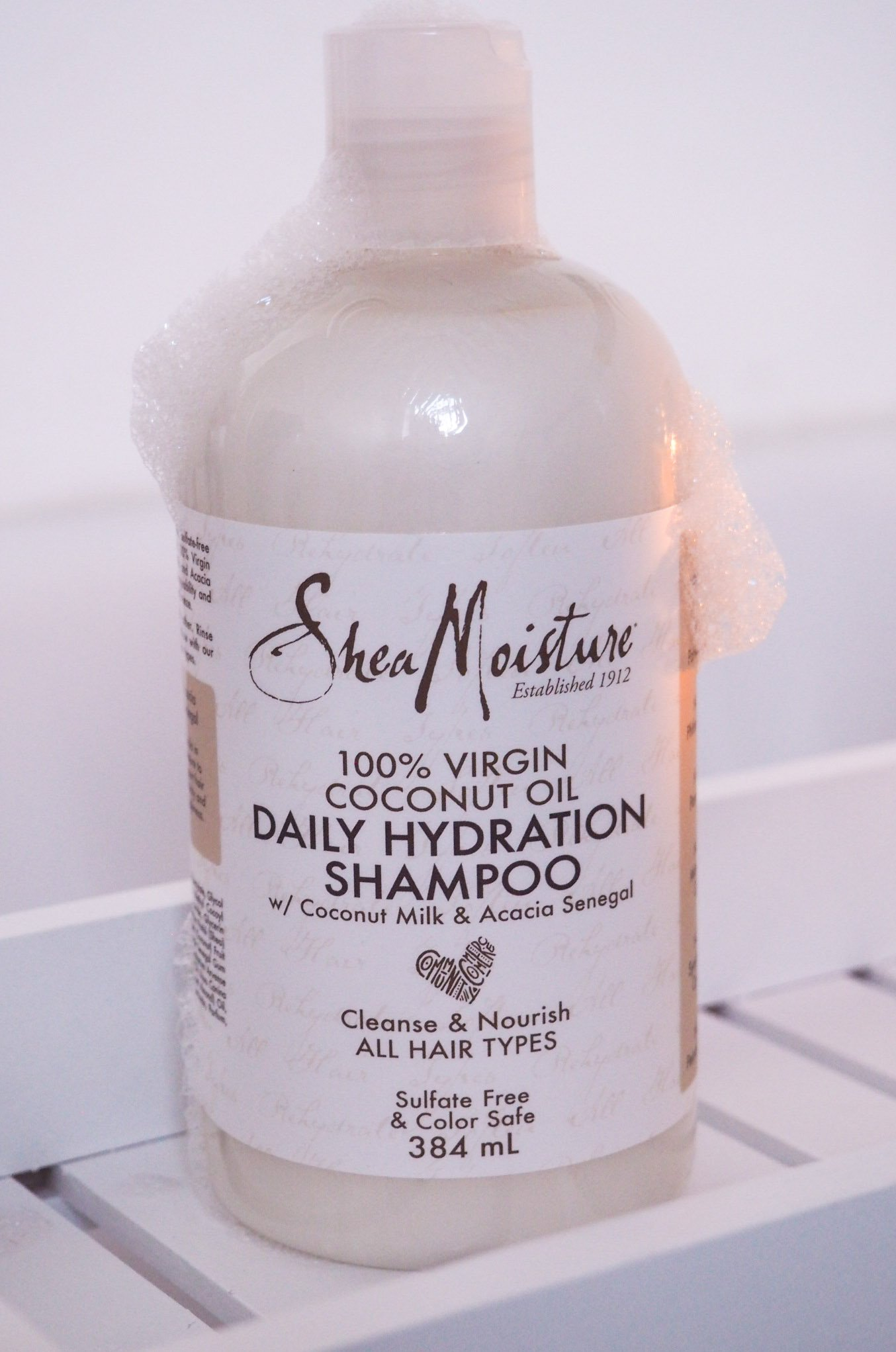 Shea Moisture 100% Virgin Coconut Oil Hydration Hair Care Range Review