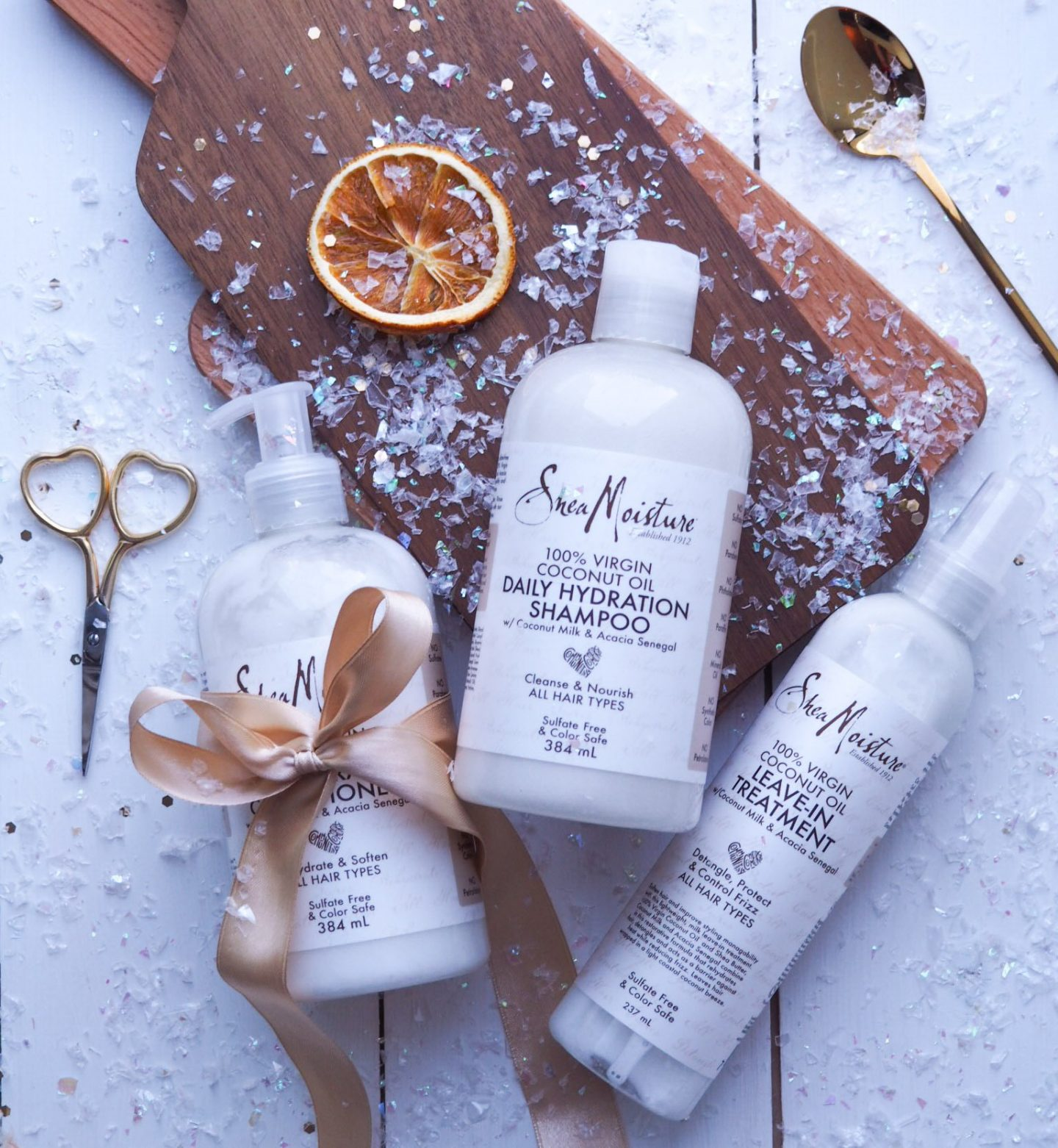 Shea Moisture Coconut Oil Hydration Hair Care Range Review